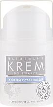 Perfumería y cosmética Crema natural con aceite de comino negro para piel con imperfecciones - E-Fiore Black Cumin Face Cream