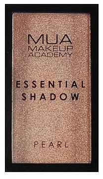 Sombras de ojos altamente pigmentados - MUA Essential Shadow Pearl