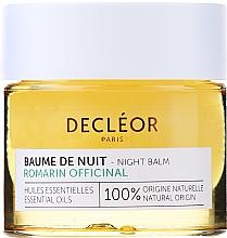 Perfumería y cosmética Bálsamo equilibrante de noche con aceite esencial de romero - Decleor Rosemary Officinalis Night Balm (mini)