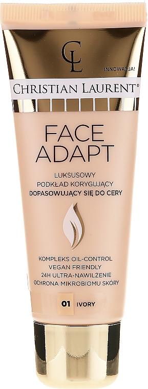 Base de maquillaje con ácido hialurónico, extracto de baya de goji y de bambú, pro&prebióticos - Christian Laurent Face Adapt