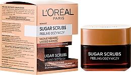 Perfumería y cosmética Exfoliante facial a base de azúcar y aceite de cacao - L'Oreal Paris Sugar Scrubs