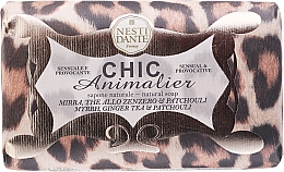 Perfumería y cosmética Jabón natural con aroma a mirra & pachulí - Nesti Dante Chic Animalier Soap