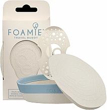 Perfumería y cosmética Caja de viaje impermeable con estante extraíble para champú y acondicionador sólidos - Foamie Travel Buddy with Removable Shelf