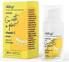 Perfumería y cosmética Gel contorno de ojos con vitamina C - Kili·g Woman Eye Gel