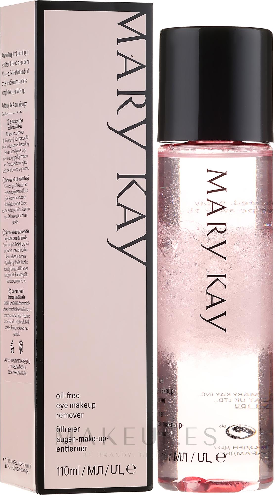 Desmaquillante de ojos suave hipoalergénico - Mary Kay TimeWise Oil Free Eye Make-up Remover — imagen 110 ml