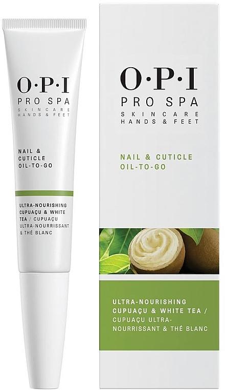 Aceite para cutículas y uñas con té blanco - O.P.I. ProSpa Nail & Cuticle Oil To Go