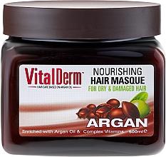 Perfumería y cosmética Mascarilla capilar con aceite de argán & vitaminas - VitalDerm Argana