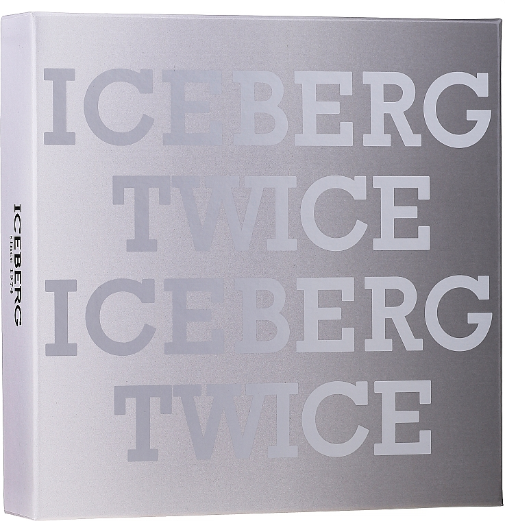 Iceberg Twice Homme - Set (eau de toilette/125ml + neceser)