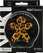 Perfumería y cosmética Ambientador de coche con aroma a vainilla y pachulí - Mr&Mrs Niki Vanilla & Patchouly Brown Fantasy Animalier