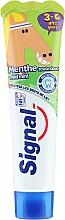 Perfumería y cosmética Pasta dental sabor a menta con fluoruro - Signal Signal Kids Mint Toothpaste
