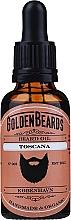 Perfumería y cosmética Aceite orgánico artesanal para barba con jojoba, argán y jengibre - Golden Beards Beard Oil Toscana