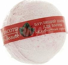 """Perfumería y cosmética Bomba de baño """"sorbete de fresa"""" - Le Cafe de Beaute Bubble Ball Bath"""