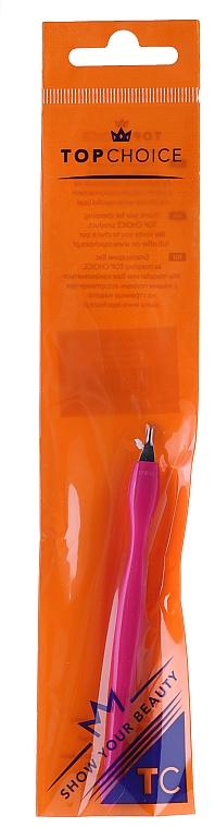 Cortacutículas con mango de plástico 7248, rosa - Top Choice