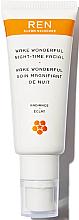 Perfumería y cosmética Gel facial con ácido AHA y aceite de semilla de arándano - Ren Radiance Wake Wonderful Night-Time Facial