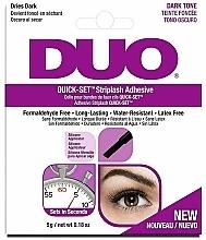 Perfumería y cosmética Pegamento para pestañas postizas de larga duración resistente al agua - Ardell Duo Quick Set Dark Tone
