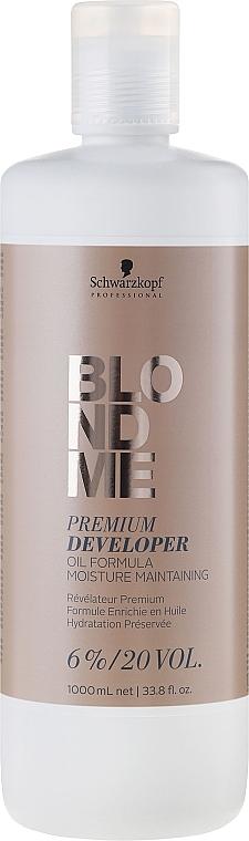Loción activadora de color 6% - Schwarzkopf Professional Blondme Premium Developer 6%