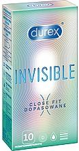 Perfumería y cosmética Preservativos, 10uds. - Durex Invisible Close Fit