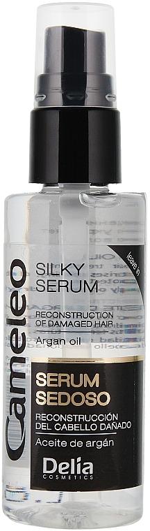 Sérum para cabello sedoso con aceite de argán - Delia Cameleo Hair Silk