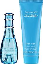 Perfumería y cosmética Davidoff Cool Water Woman - Set (eau de toilette/30ml + loción corporal hidratante/75ml)