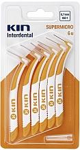Perfumería y cosmética Cepillos interdentales 0,7 mm, 6 uds. - Kin Supermicro ISO 1