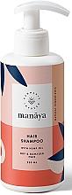 Perfumería y cosmética Champú reparador con aceite de cáñamo - Manaya Hair Shampoo With Hemp Oil
