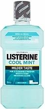 Perfumería y cosmética Enjuague bucal con aroma a menta - Listerine Cool Mint Mild Taste