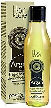 Perfumería y cosmética Elixir para cabello frágil con aceite de argán sin aclarado - PostQuam Argan Fragile Hair Elixir