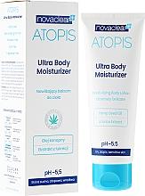 Perfumería y cosmética Loción corporal con aceite de cáñamo para pieles seca & sensible - Novaclear Atopis Ultra Body Moisturizer