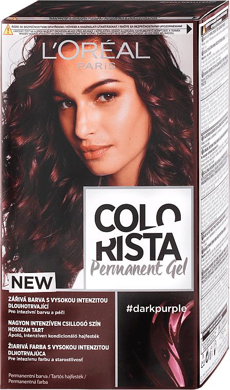 Tinte permanente en gel para cabello - L'Oreal Paris Colorista Permanent Gel