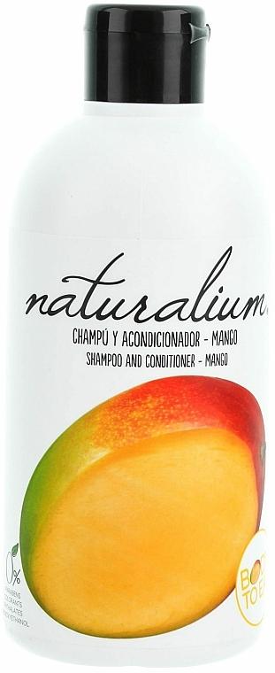 Champú & acondicionador con mango - Naturalium Shampoo And Conditioner Mango