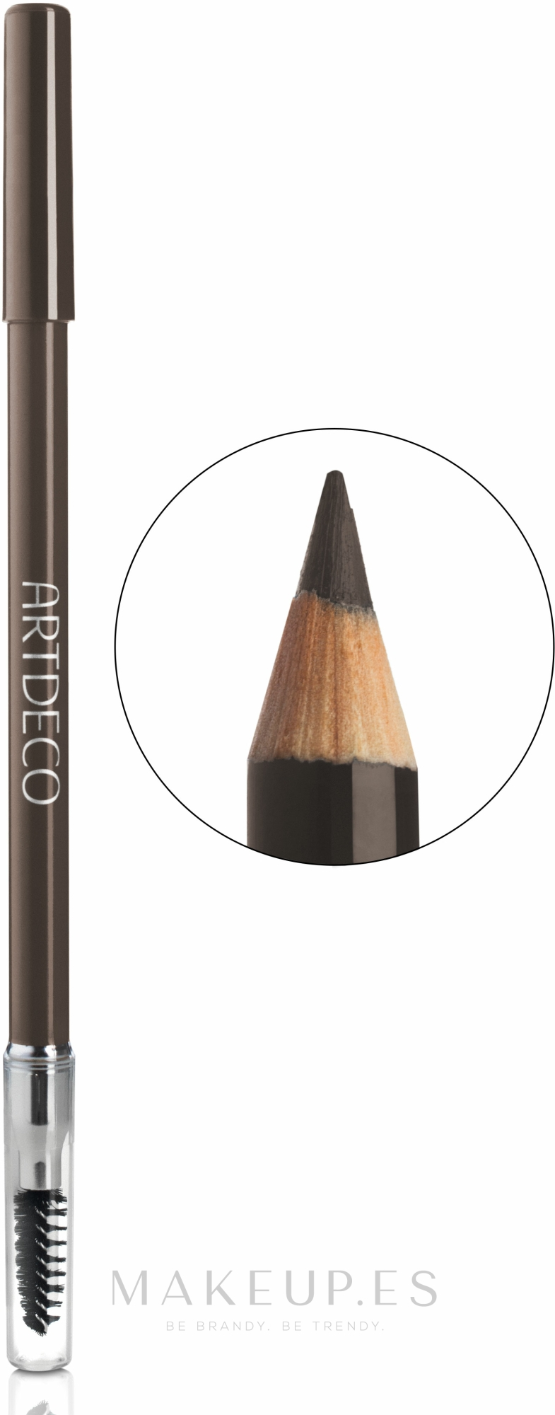 Lápiz de cejas con cepillo - Artdeco Eye Brow Designer — imagen 2 - Dark