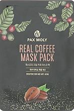 Perfumería y cosmética Mascarilla facial iluminadora antiedad con extracto de escutelaria - Pax Moly Real Coffee Mask Pack