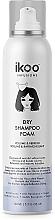Perfumería y cosmética Champú seco en espuma para volumen - Ikoo Infusions Shampoo Foam Color Volume & Refresh