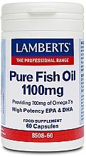 Perfumería y cosmética Complemento alimenticio Aceite puro de pescado en cápsulas, 1100 mg - Lamberts Pure Fish Oil 1100mg