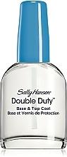 Perfumería y cosmética Base y top coat fortalecedora, 2en1 - Sally Hansen Double Duty