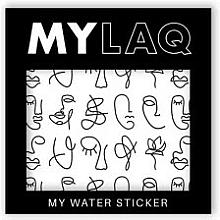 Perfumería y cosmética Pegatinas para decoración de uñas, Arte - MylaQ My Line Art sticker