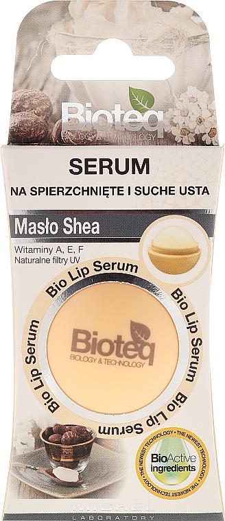 Bálsamo para labios secos y agrietados con manteca de karité - Bioteq Bio Lip Serum Shea Butter