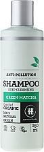 Perfumería y cosmética Champú con extracto de Matcha verde orgánico y 100% natural - Urtekram Green Matcha Shampoo
