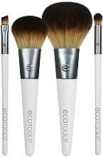 Perfumería y cosmética Brochas de maquillaje, 4uds. - EcoTools On-The Go Style