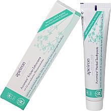 Perfumería y cosmética Pasta dental con extractos naturales - Apeiron Auromere Herbal Toothpaste