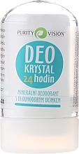 Perfumería y cosmética Desodorante roll-on con minerales - Purity Vision Deo Krystal 24 Hour Mineral Deodorant