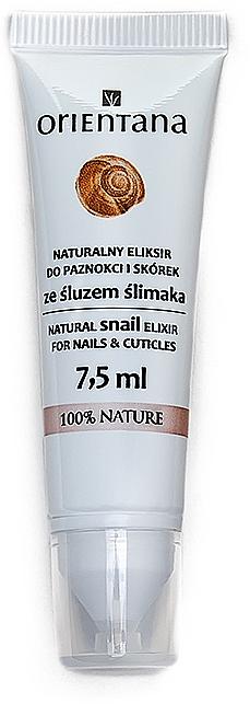 Elixir para uñas y cutículas con baba de caracol - Orientana Natural Snail Elixir For Nails&Cuticles