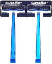 Perfumería y cosmética Maquinillas de afeitar desechables, 48uds. - Super-Max Twin Blade