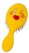 Perfumería y cosmética Cepillo de pelo, 2003W, emoji - IDC Design XL Detangle Brush