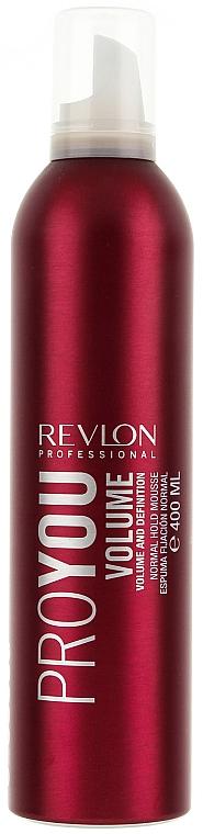 Espuma moldeadora, fijación normal - Revlon Professional Pro You Volume Styling Mousse — imagen N1