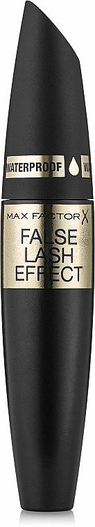 Máscara de pestañas con cepillo grande para mayor volumen resistente al agua - Max Factor False Lash Effect Waterproof — imagen N1