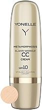 Perfumería y cosmética Crema facial antiedad correctora de tono con vitamina D3 - Yonelle Metamorphosis D3 Anti Wrinkle CC Cream SPF10