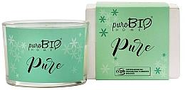 Perfumería y cosmética Vela orgánica, naranja y bergamota - PuroBio Home Organic Pure