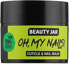 """Perfumería y cosmética Bálsamo para cutículas y uñas """"Oh My Nails!"""" - Beauty Jar Cuticle&Nail Balm"""
