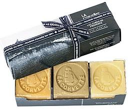 Perfumería y cosmética Set - La Corvette Provence Soap Gift Box (jabón/3x100g)
